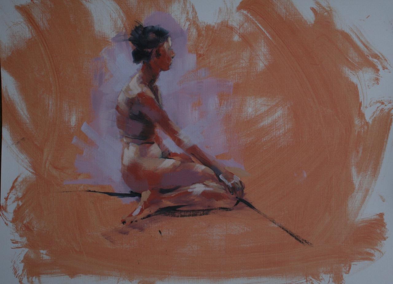 Jackie Henderson Reclining Nude (2)